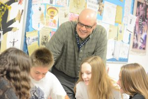 The end of an era: Mr. Richards' goodbye