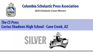CS Press wins CSPA Silver Crown award