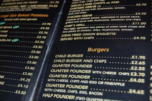 Prices may see an increase in some restaurant menus.