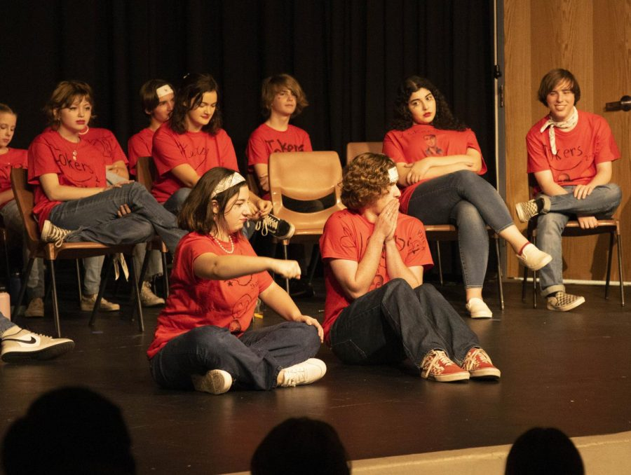 Jokers Improv makes its mark with the first show of the school year